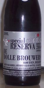 De Dolle Oerbier Special Reserva 2006 (Bottled 2007)