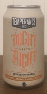 Might Meets Right - Blueberry Maple