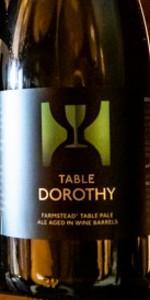 Table Dorothy (Wine Barrel aged)