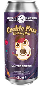 Cookie Puss Birthday Beer