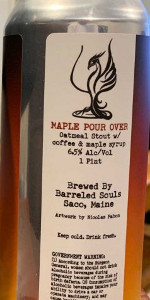 Maple Pour Over