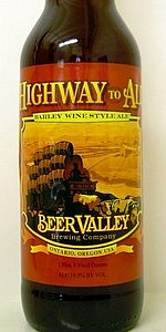 Highway To Ale Barleywine