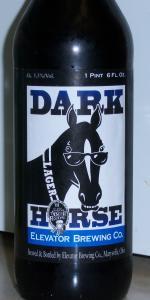 Elevator Dark Horse Lager