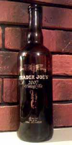 Trader Joe's 2007 Vintage Ale