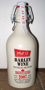 Mill Street Barley Wine (2007-2011)