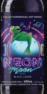 Neon Moon Black Lager