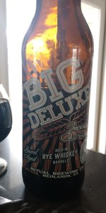Rye Whiskey Barrel Aged Big Deluxe