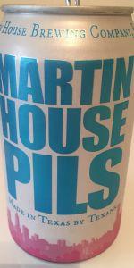 Martin House Pils