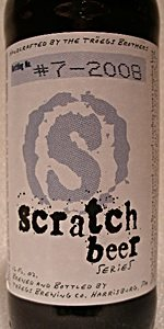 Scratch Beer 7 - 2008 (Weizenbock)