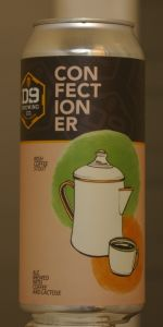 Confectioner Series 002:  Irish Coffee Stout