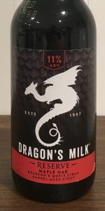 Dragon's Milk Reserve - Maple Oak