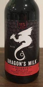 Dragon's Milk Reserve - Maple Oak