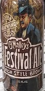 O'Malley's Festival Ale Irish Style Brown