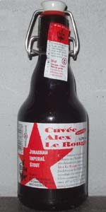 Cuvée Alex Le Rouge (Jurassian Imperial Stout)