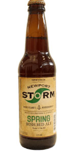 Newport Storm Spring Irish Red Ale