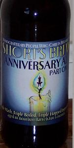 Short's Anniversary Ale Part One 2007