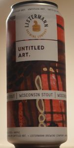 Untitled Art / Listermann Brewing - Wisconsin Stout