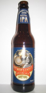 Brewer's Choice Special Ale 2008: Royal IPA