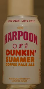 Dunkin' Summer Coffee Pale Ale
