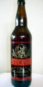 Stone Old Guardian Barley Wine Style Ale 2008