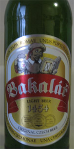 Bakalar Light Beer
