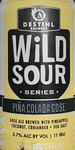 WiLD Sour Series: Piña Colada Gose