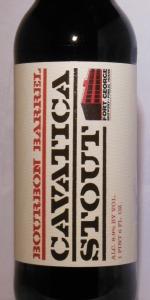 Bourbon Barrel Cavatica Stout