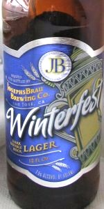 Josephs Brau Winterbrew