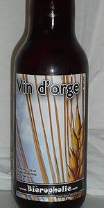 Vin D'orge