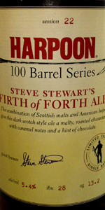 Harpoon 100 Barrel Series #22 - Steve Stewart's Firth Of Forth