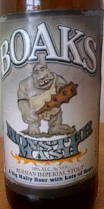 Boaks Monster Mash Imperial Stout