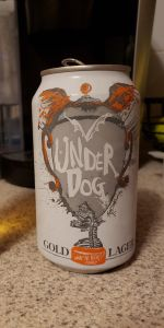 Under Dog Gold Lager
