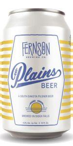 Plains Beer Pilsner