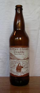 Brother David's Belgian-style Double Ale