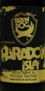 BrewDog Paradox Islay (Batch 008) - Bowmore 1987
