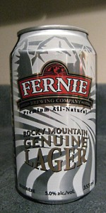 Rocky Mountain Genuine Lager
