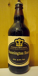 Crown Brewery Stannington Stout
