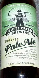 Butte Creek Organic Pale Ale