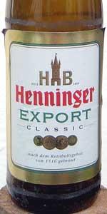 Henninger Export Classic