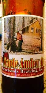 Maple Amber Ale