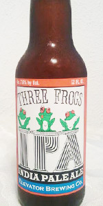 Elevator Three Frogs IPA
