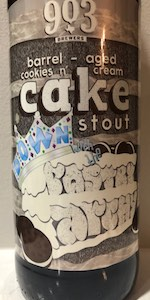 Down With The PastryArchy - Cookies N' Cream Cake Stout