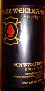 Feuerwehrmann Schwarzbier