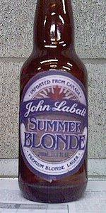 John Labatt Summer Blonde