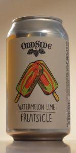 Watermelon Lime Fruitsicle