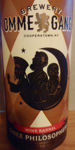 Three Philosophers - Red Wine Barrel-Aged