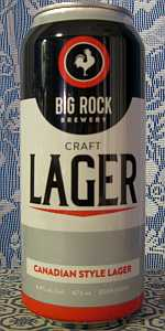 Big Rock Craft Lager