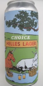 Choice Helles Lager