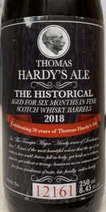 Thomas Hardy - The Historical Ale 2018