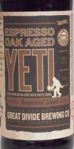 Espresso Oak Aged Yeti Imperial Stout